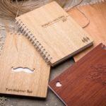 А Ви вже купили собі блокнот з дерев'яною обкладинкою?